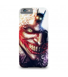 Batman and Joker printed mobile cover